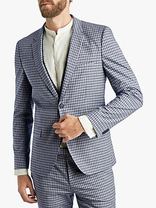 faa4e21b HUGO by Hugo Boss Glen Check Extra Slim Fit Suit Jacket, Blue