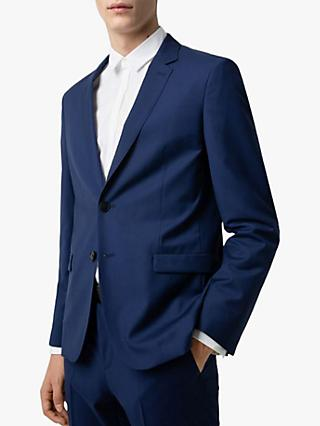 HUGO by Hugo Boss Aero192 Virgin Wool Extra Slim Suit Jacket, Blue