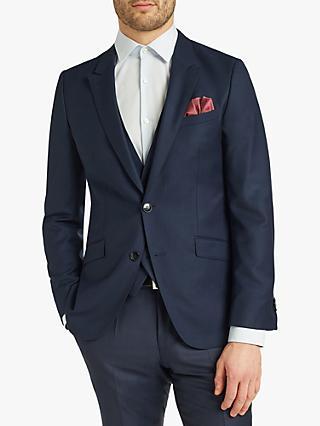 c4bc9895f HUGO by Hugo Boss Getlin Harvey Birdseye Slim Fit Suit Jacket, Navy