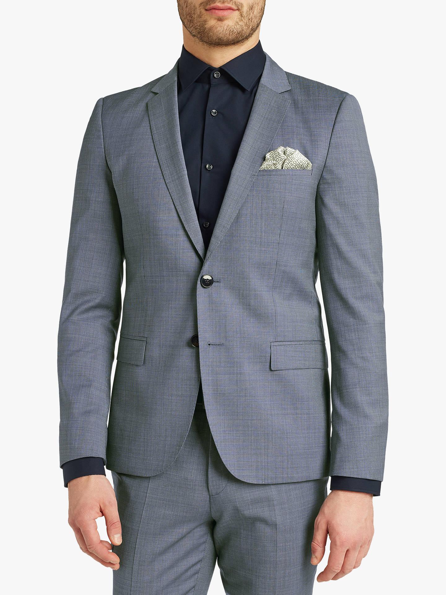 85bc71be821 Buy HUGO by Hugo Boss Arti 182 Pin Dot Wool Super Slim Suit Jacket