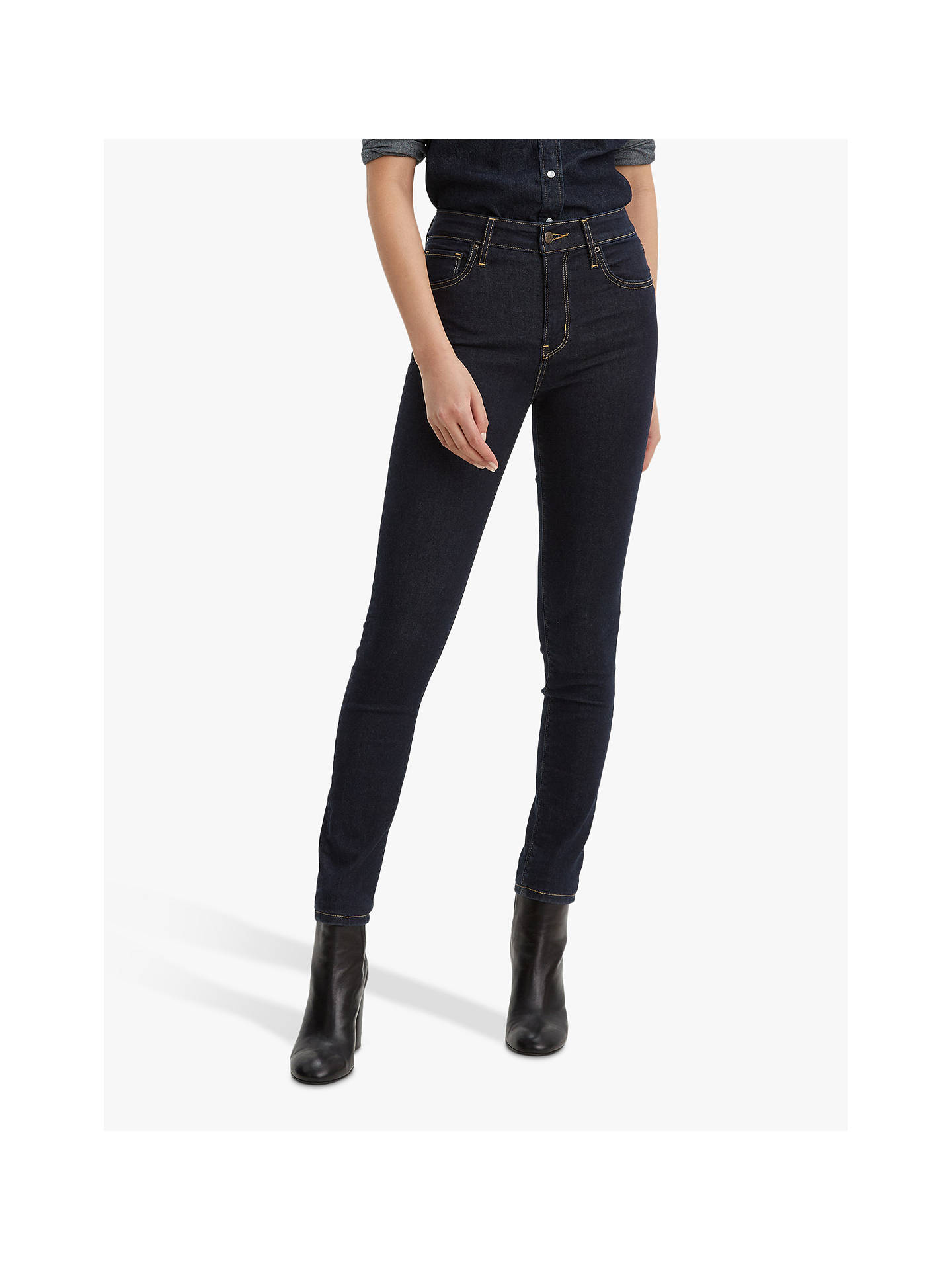 Buy Levi's 721 High Rise Skinny Jeans, To The Nine, W28/L30 Online at johnlewis.com