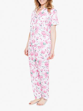 Nora Rose by Cyberjammies Pearl Floral Cotton Pyjama Set 6a50a3184