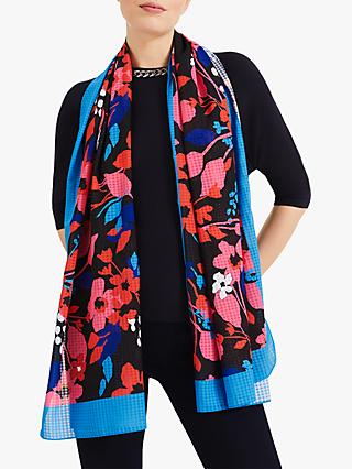 Phase Eight Sanya Floral Scarf, Multi