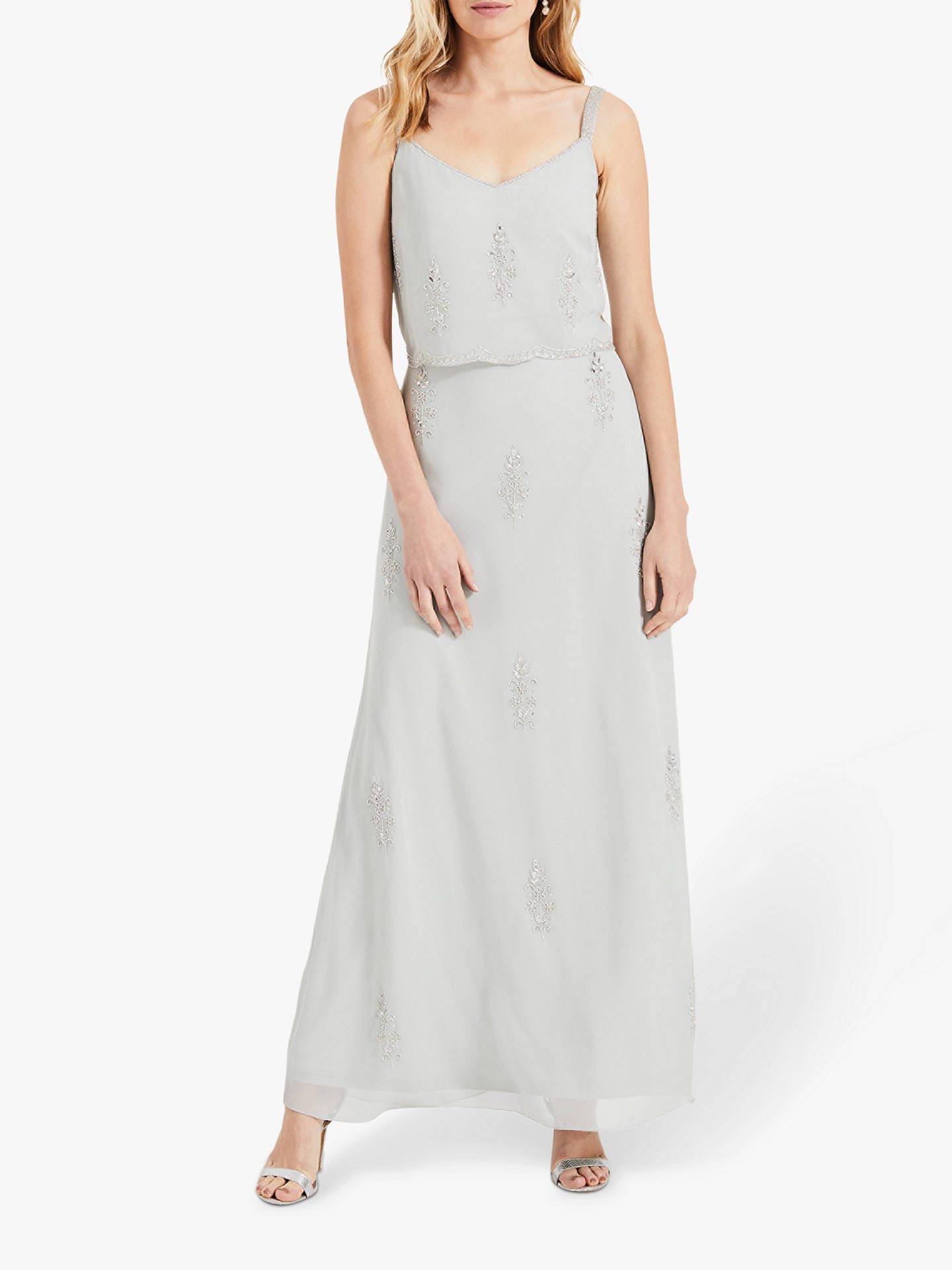 9eaa9d93e9 Buy Phase Eight Agustina Beaded Maxi Bridesmaid Dress