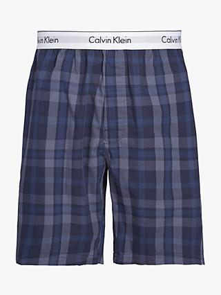 fac9a1ea3e5 Calvin Kelin Vernoa Plaid Lounge Shorts
