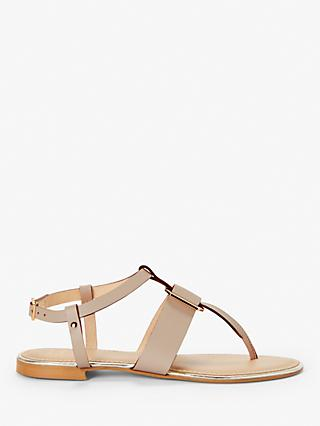 262b42ffe John Lewis   Partners Lyla Metal Detail Toe Post Sandals
