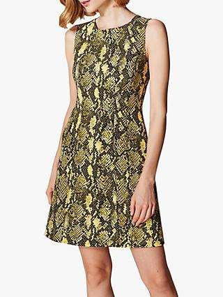 Karen Millen Snake Print Dress a4f1491b3