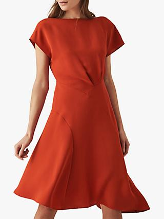Reiss Victoria Cap Sleeve Dress