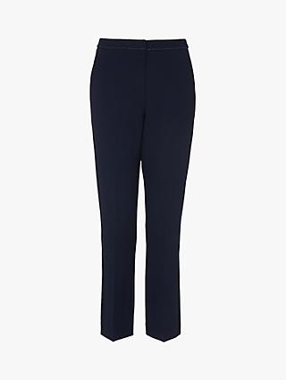 L.K.Bennett Dannie Tailored Trousers, Midnight Blue