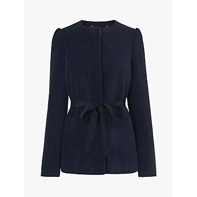L.K.Bennett Aubriet Cotton Jacket, French Blue