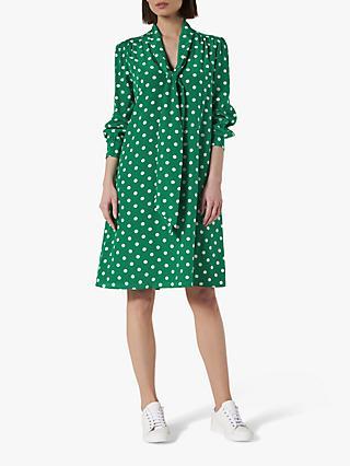 L.K.Bennett Evia Spot Print Silk Dress a0ff8602a