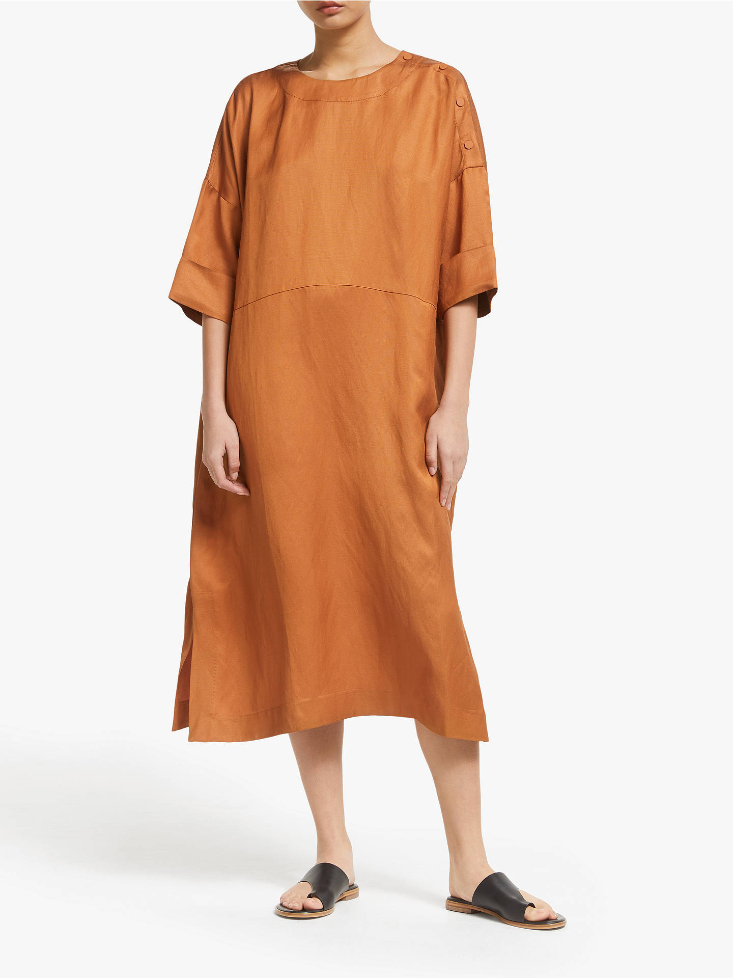 Kin Easy T Shirt Dress, Orange by Kin