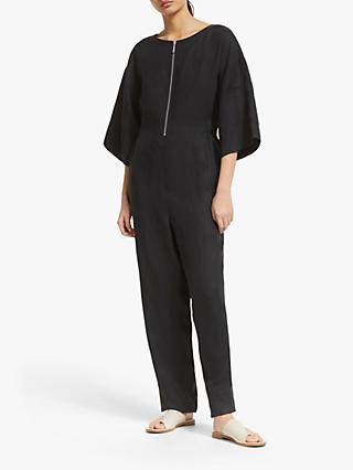 Kin Shirred Waist Jumpsuit