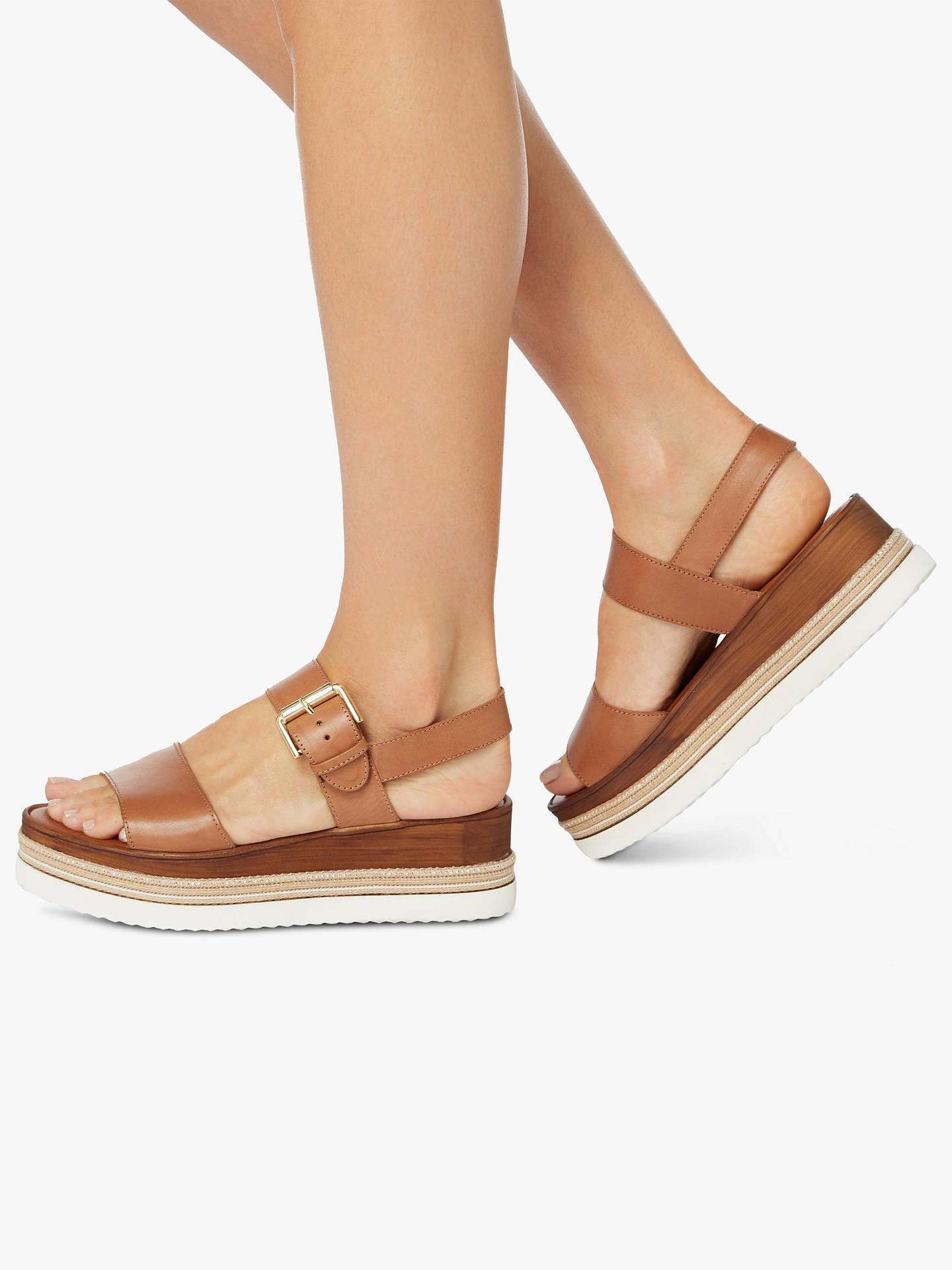 cc91af09820 Dune Kaze Espadrille Flatform Sandals at John Lewis   Partners
