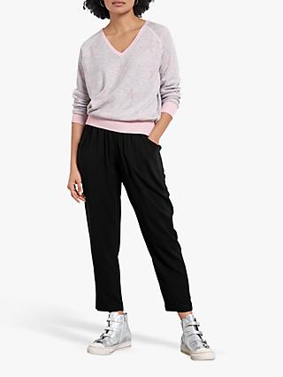 hush Cropped Easy Trousers