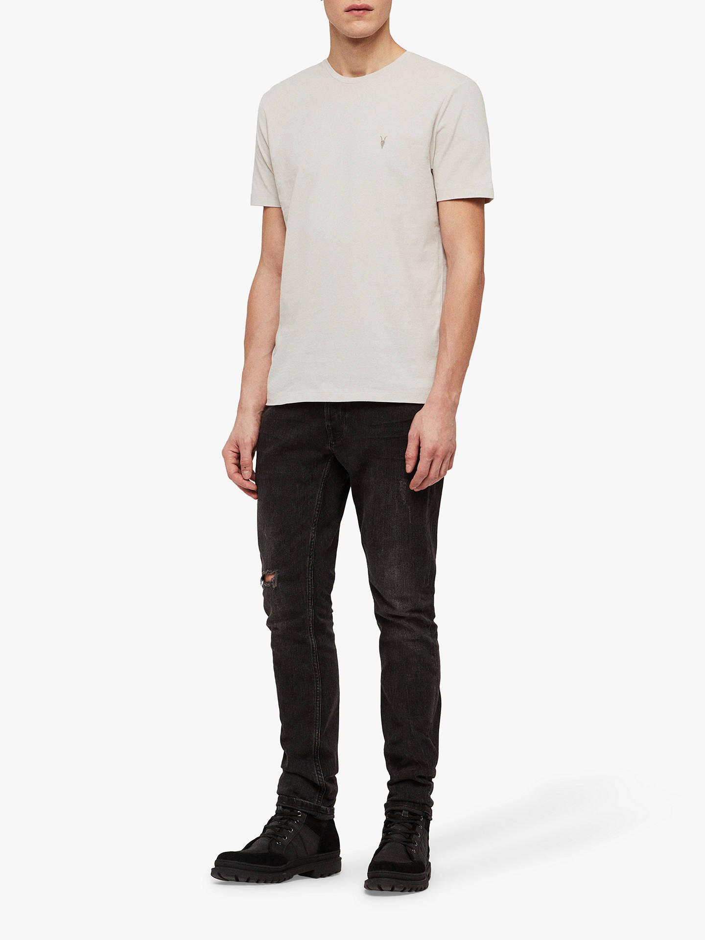 klassischer Chic beste Auswahl an neue auswahl AllSaints Brace Tonic Crew Neck T-Shirt at John Lewis & Partners