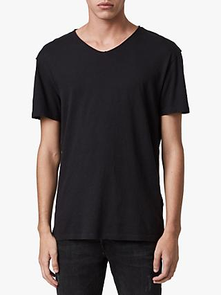 AllSaints Figure V-Neck Short Sleeve T-Shirt