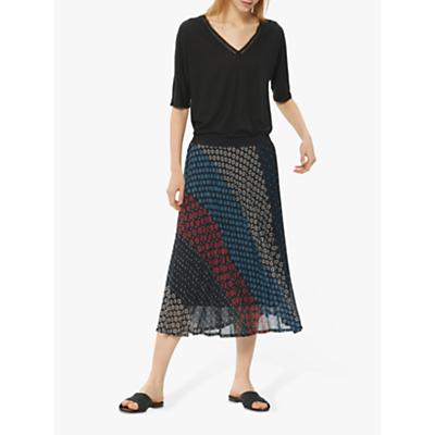 Gerard Darel Indy Skirt, Blue/Multi