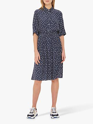 Gerard Darel Ira Polka Dot Skirt, Blue