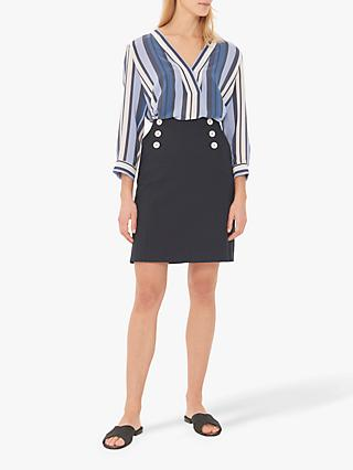 Gerard Darel Irene Skirt, Navy