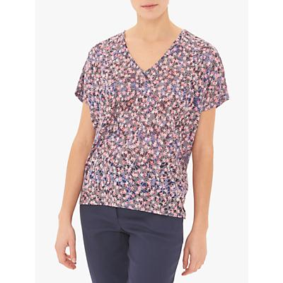 Gerard Darel Vivienne Floral T-Shirt, Blue