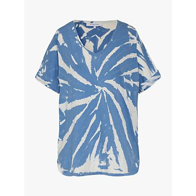 Gerard Darel Violina Cotton T-Shirt, Blue