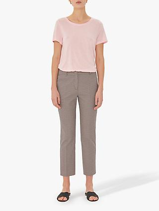Gerard Darel Nelly Patterned Trousers, Pink