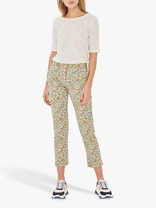 Gerard Darel Nelson Patterned Trousers, White