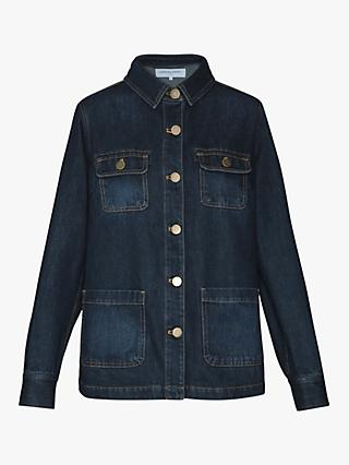 Gerard Darel Sandy Denim Jacket, Blue