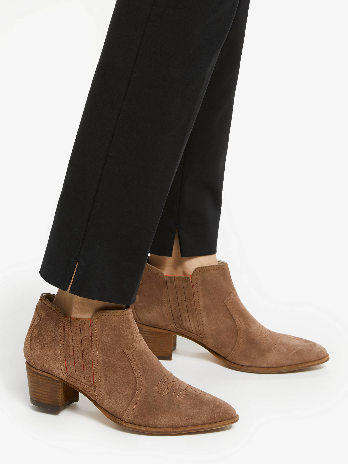 top-rated cheap authentic quality purchase original Boden Clifton Ankle Boots, Tan Suede at John Lewis & Partners