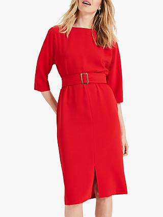 Phase Eight Cristabel Dress, Crimson