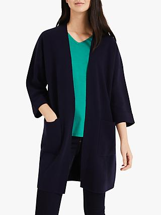 Phase Eight Carella Coatigan, Navy