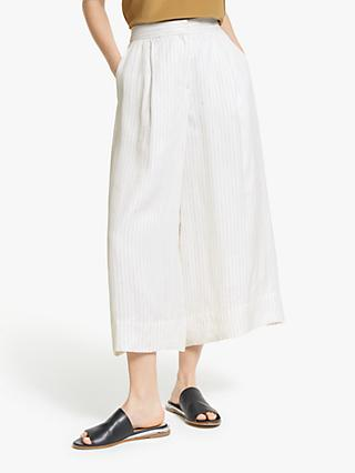 Modern Rarity Stripe Culottes, White