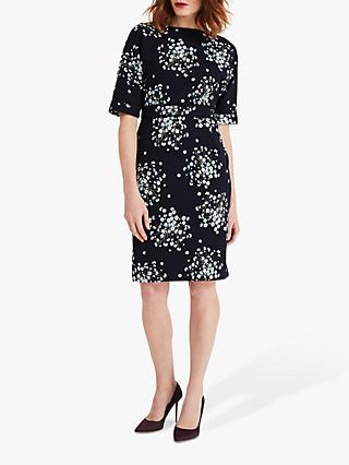 Phase Eight Madoline Ditsy Dress, Navy/Multi