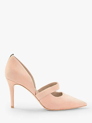 Boden Adrianna Two Part Court Shoes, Fawn Rose