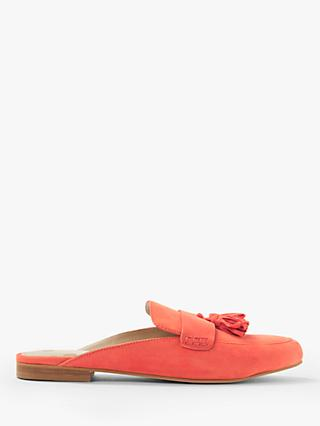 Boden Katie Tassel Backless Flat Mules