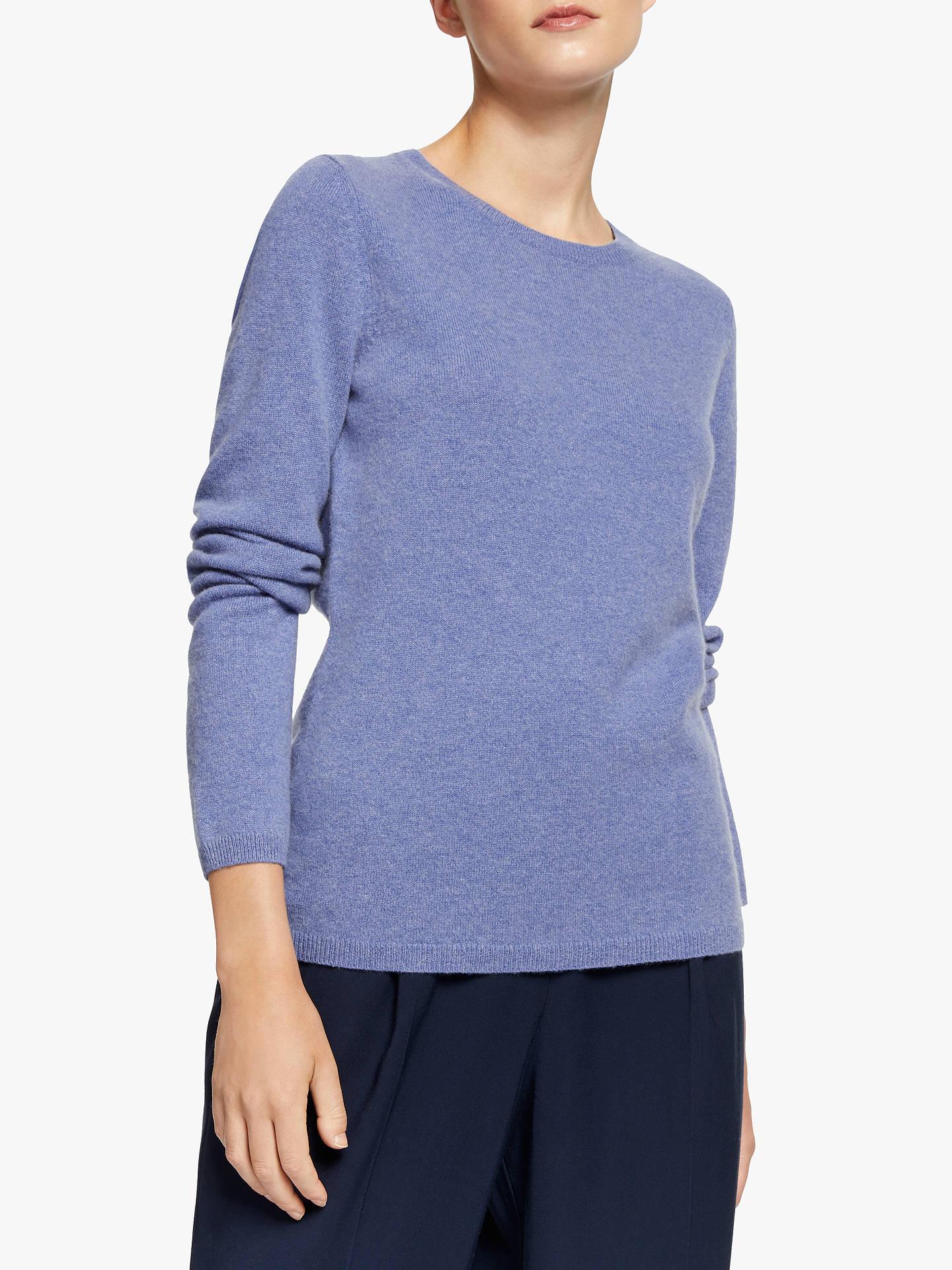 John Lewis & Partners Cashmere Crew Neck Sweater at John