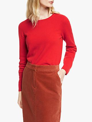 John Lewis & Partners Cashmere Crew Neck Sweater