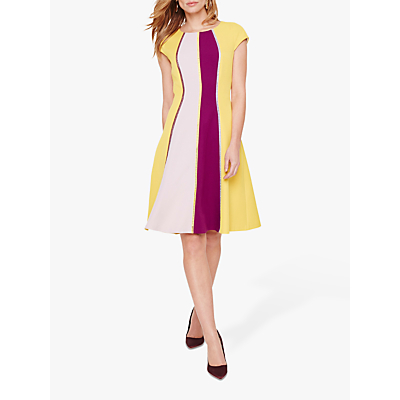Damsel in a Dress Remi Colour Block Dress, Multi