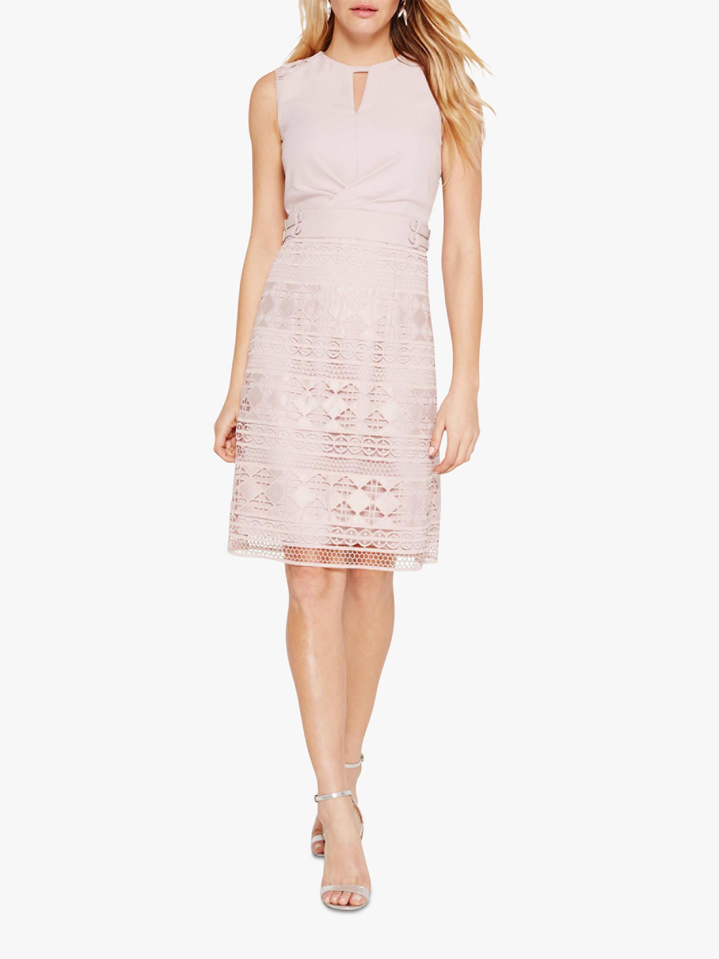 74e0fcc3c538 Buy Damsel in a Dress Porta Lace Dress, Blush, 8 Online at johnlewis.