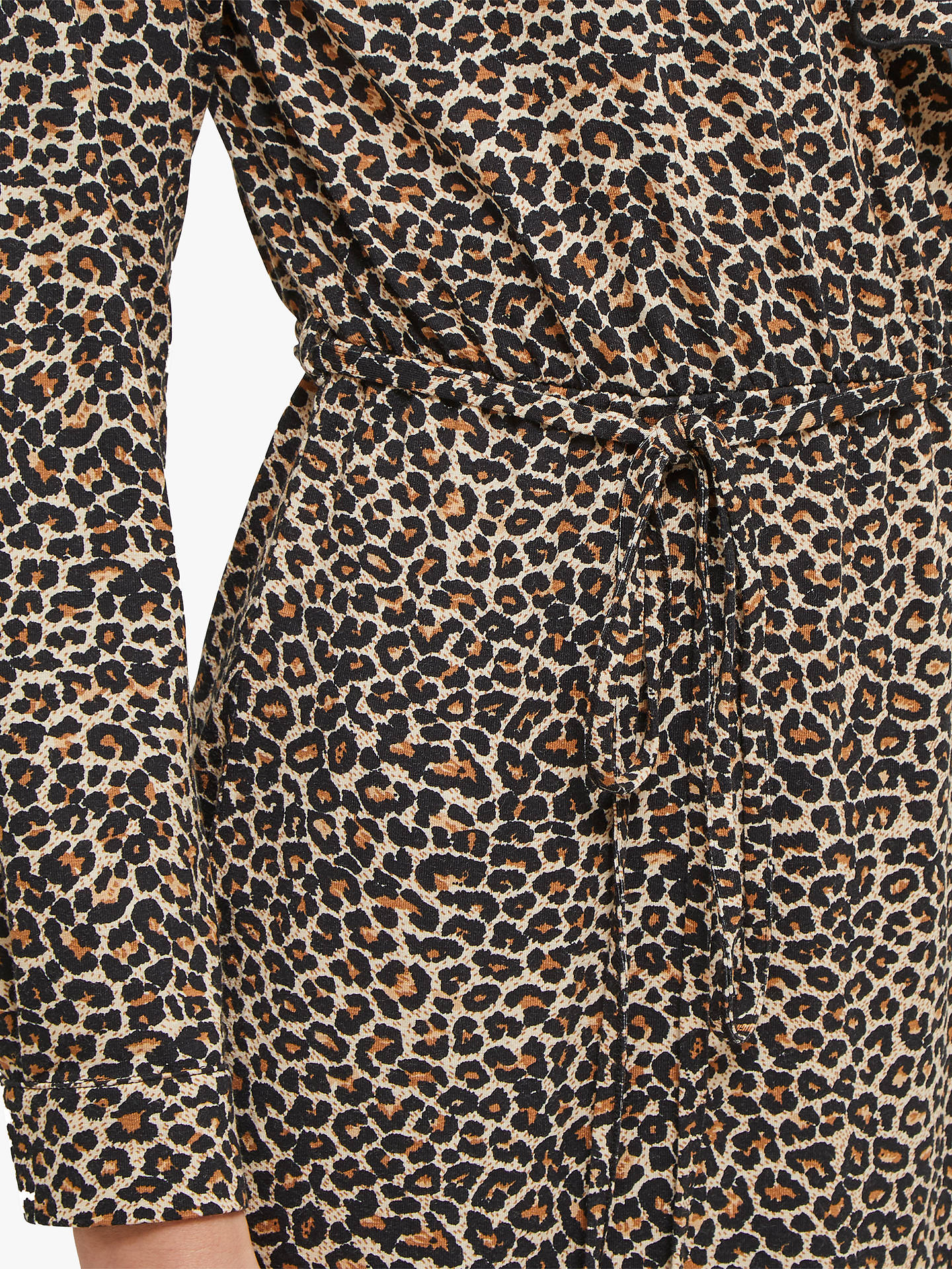 Buy French Connection Animal Print Wrap Dress, Brown Leopard, 8 Online at johnlewis.com