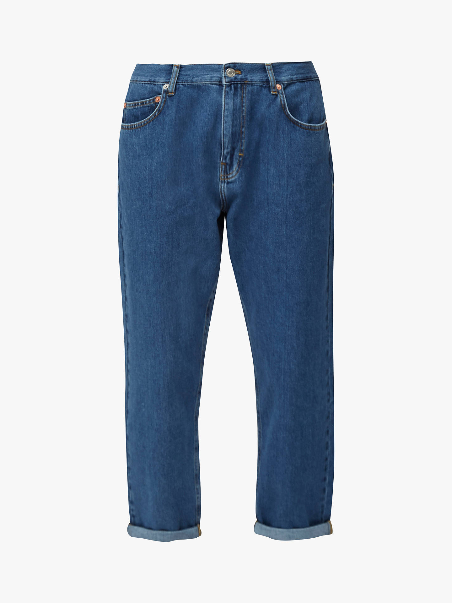 Buy French Connection Fitz Boyfriend Jeans, Mid Vintage, 8 Online at johnlewis.com