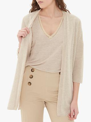 Gerard Darel Joselita Cardigan, White Natural