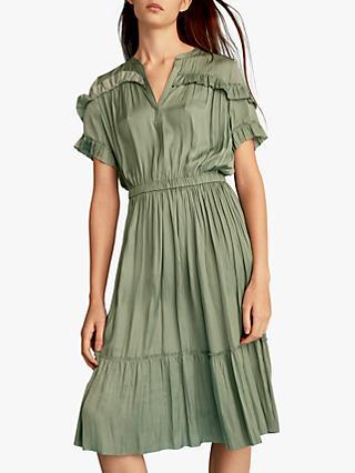 beb76a87f31f Gerard Darel Gaspard Ruffle Detail Dress