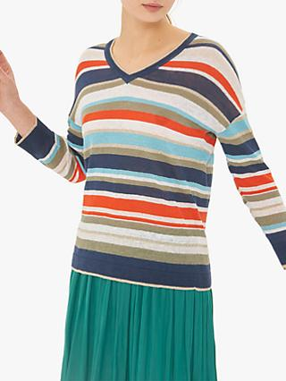 Gerard Darel Jucilia Striped Jumper, Multicolour