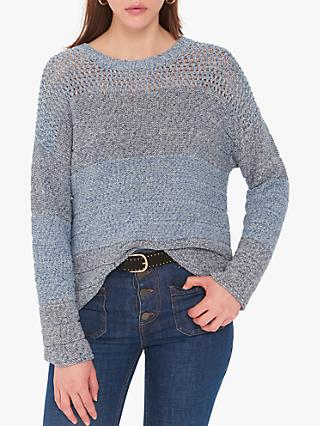 Gerard Darel Joan Cotton Jumper, Slate