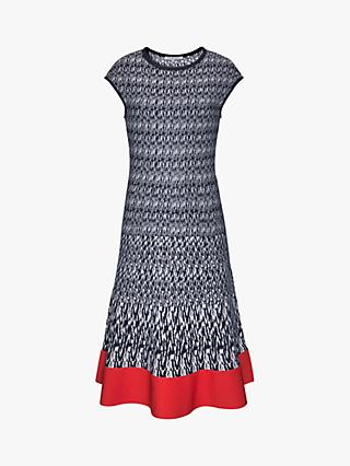 Gerard Darel Graphic Graig Dress, Navy