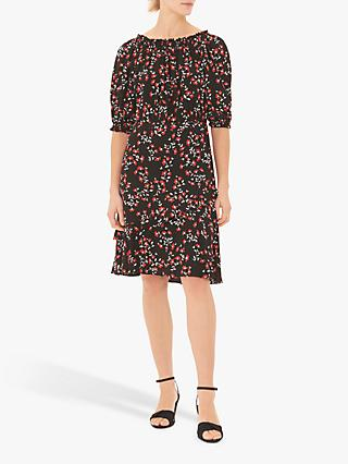 Gerard Darel Floral Gigi Dress, Black