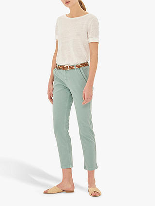 Buy Gerard Darel Naas Cropped Jeans, Green, 14 Online at johnlewis.com