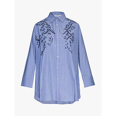 Gerard Darel Engel Stripe Shirt, Blue